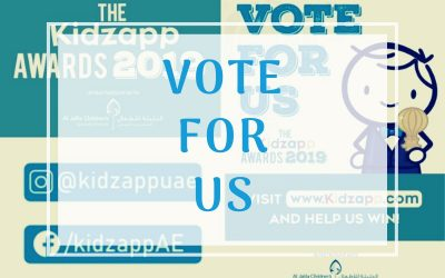 Vote for 815 in the Kidsapp Awards 2019
