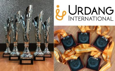 815 Dance Urdang International Dance Competition Trophies & Medals