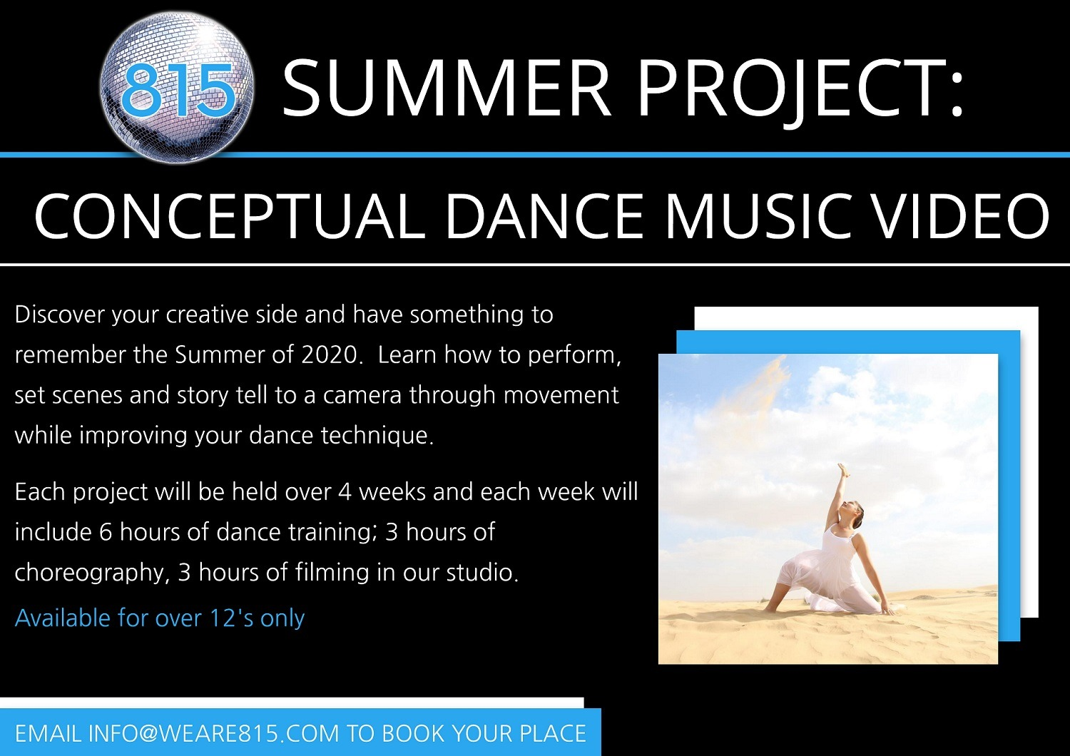 Conceptual Dance Summer Project in Dubai Silicon Oasis at 815 Dance & Performing Arts