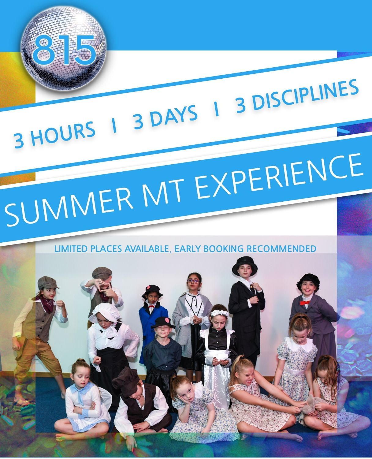 Musical Theatre Summer Camp in Dubai Silicon Oasis at 815 Dance & Performing Arts