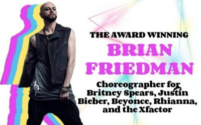 Brian Friedman Dance workshop in Dubai